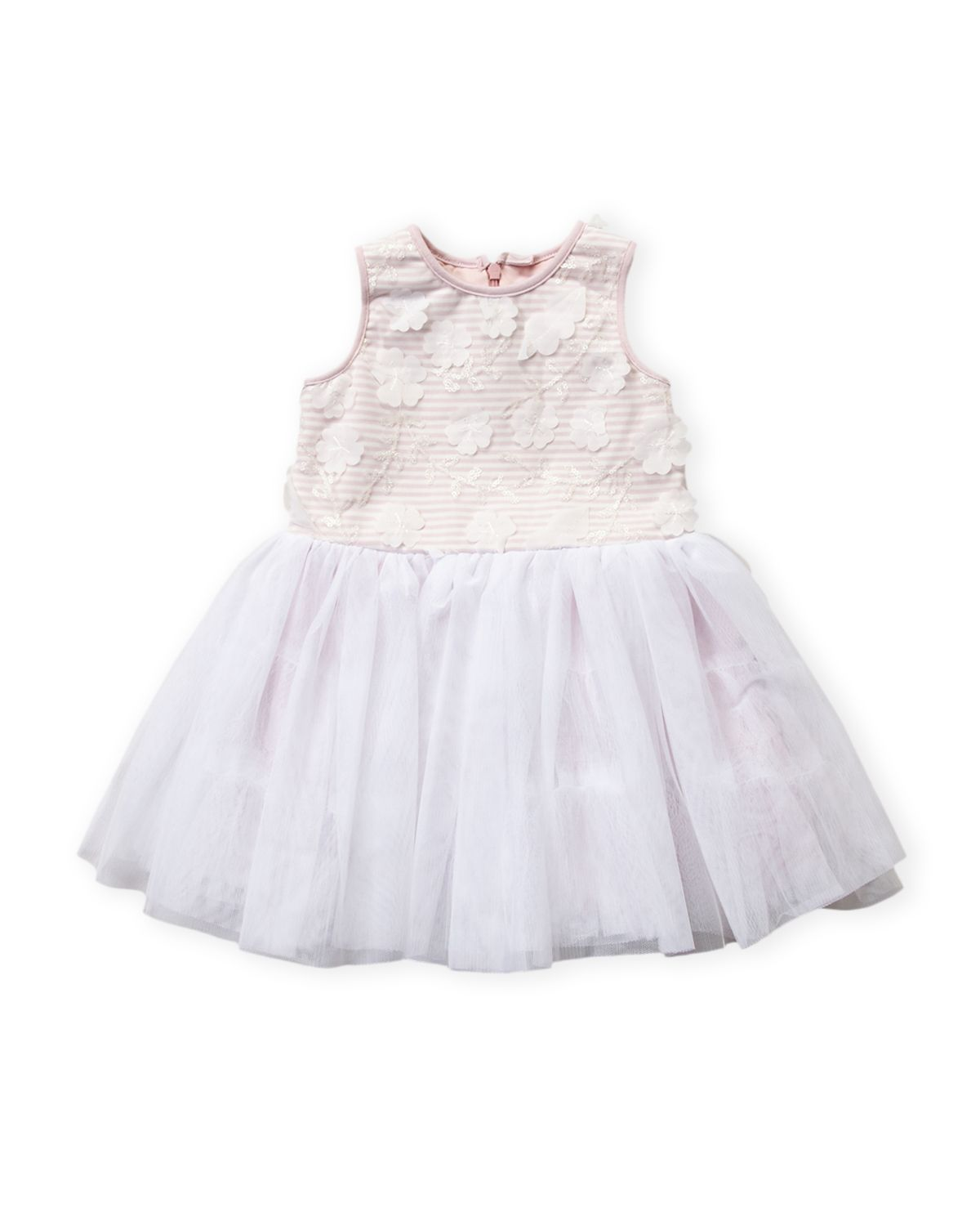 4ecc2629575 Pippa   Julie (Toddler Girls) Pink   White Floral Tutu Dress ...