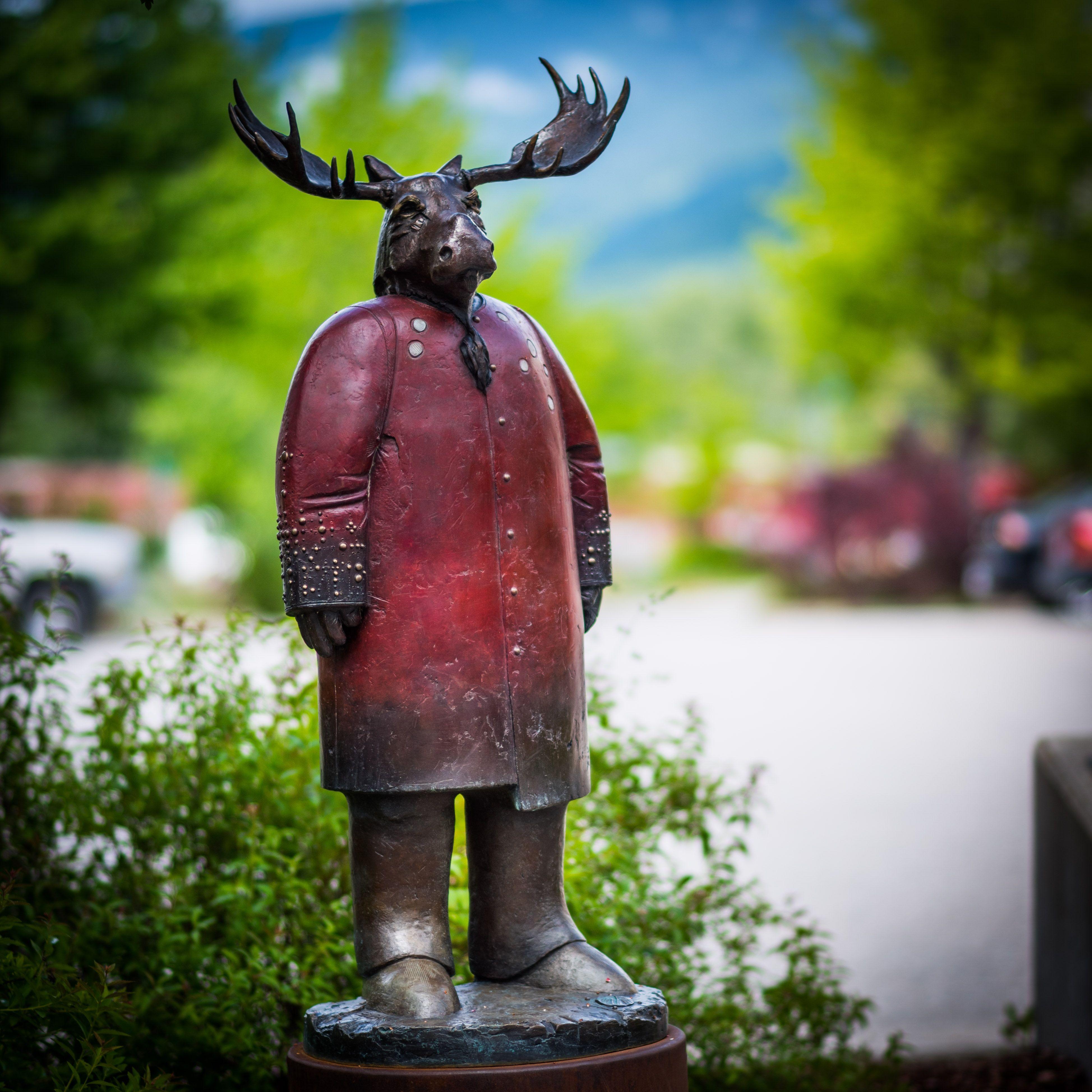 # 16 on the Castlegar Sculpturewalk: No Room for Doubt by Robert Brubaker