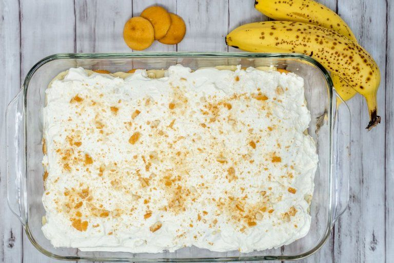 The Best Old Fashioned Banana Pudding Recipe from Scratch #bananapudding