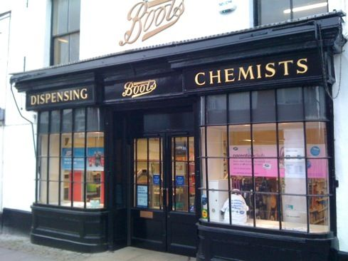 Boots, the Chemists: England, Scotland, Ireland--what a treat