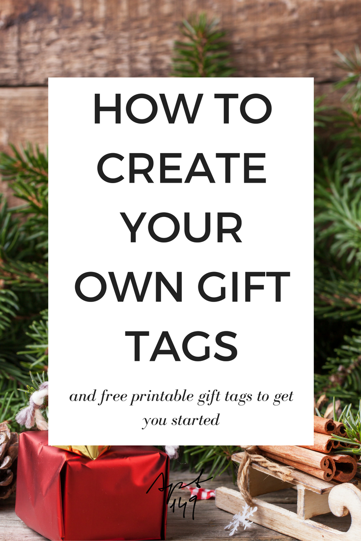 How To Create Your Own Gift Tags Using Graphicstock Free