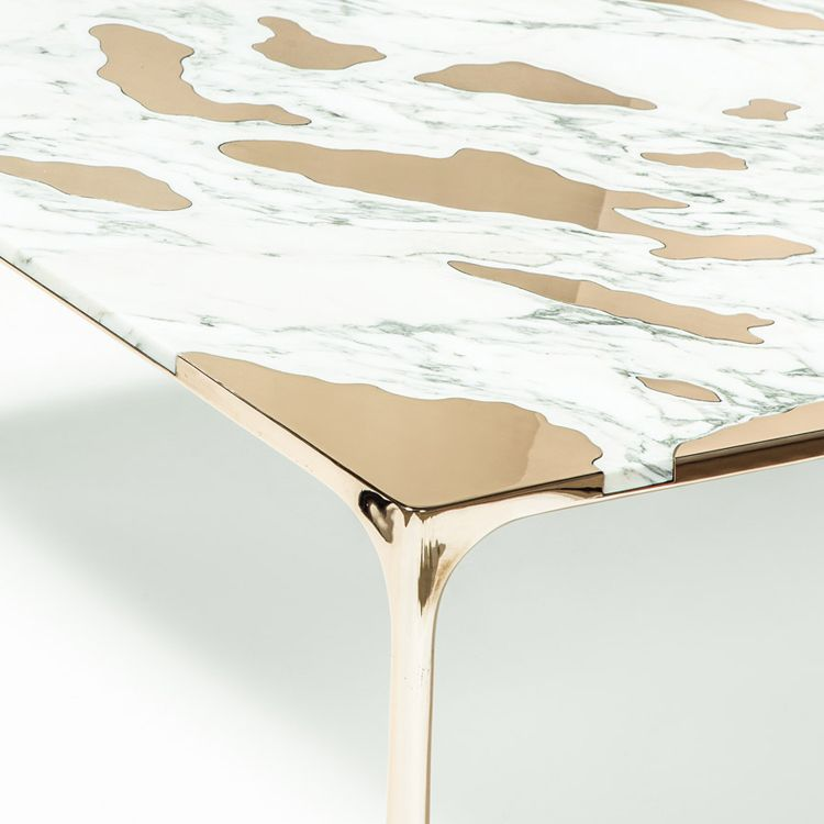 NEW YORK DESIGN WEEK 2016   DPAGES REVIEW PART II: The Designers At Gt2p  Combine Two Traditional Materials To Create One Gloriously Modern Coffee  Table.