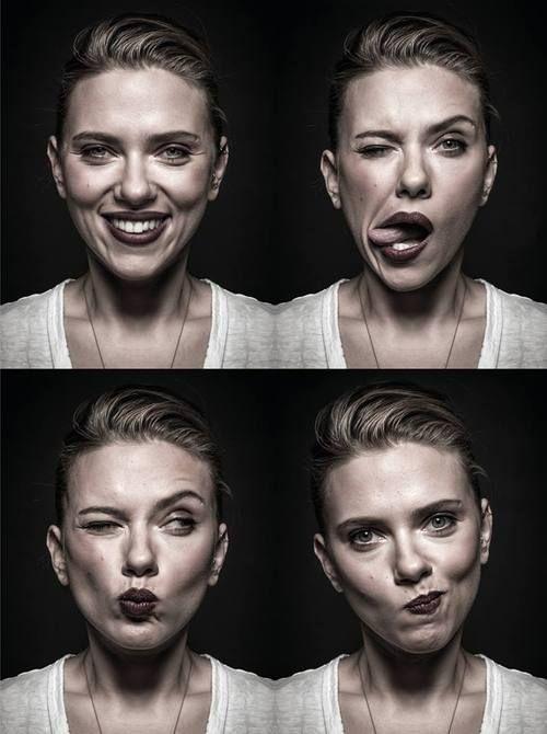 Scarlett Johansson Http Astrangerreplay Tumblr Com Post 74384730415 Face Expressions Celebrity Portraits Portrait