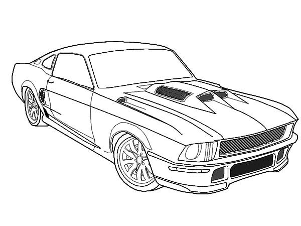 Fast Car Mustang Coloring Pages Best Place To Color In 2020 Cars Coloring Pages Horse Coloring Pages Coloring Pages