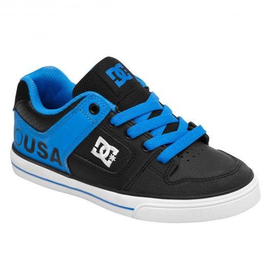 DC Shoes Pure black blue atoll chaussures de skateboard pour garçon 65€ #shoe #shoes #chaussure #chaussures #footwear #dc #dcshoes #dcshoe #dcshoecousa #dcskateboarding #skate #skateboard #skateboarding #streetshop #skateshop @PLAY Skateshop
