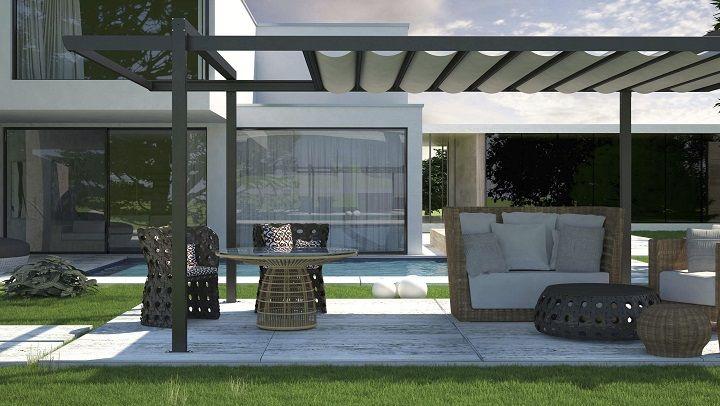tipos de prgolas para su jardn o terraza hogaressauce - Pergolas Terraza