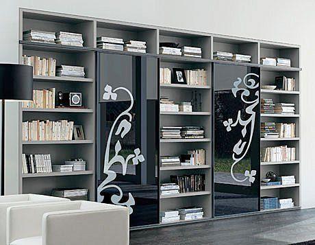 Bibliotecas modernas feli pinterest biblioteca for Muebles librerias modernas