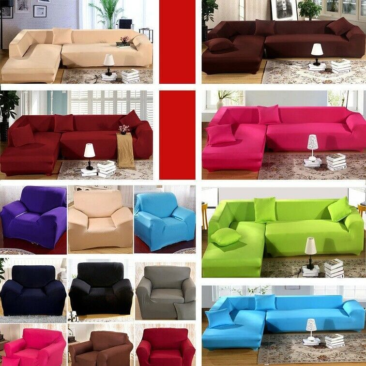 Easy Fit Sofa Cover Stretch 1 2 3 4 Seat Couch Protector Washable Slipcovers Us Sofa Slipcover Ideas Of Sofa Slipcover Sofaslipc Sofa Covers Cushions On Sofa Kitchen Sofa