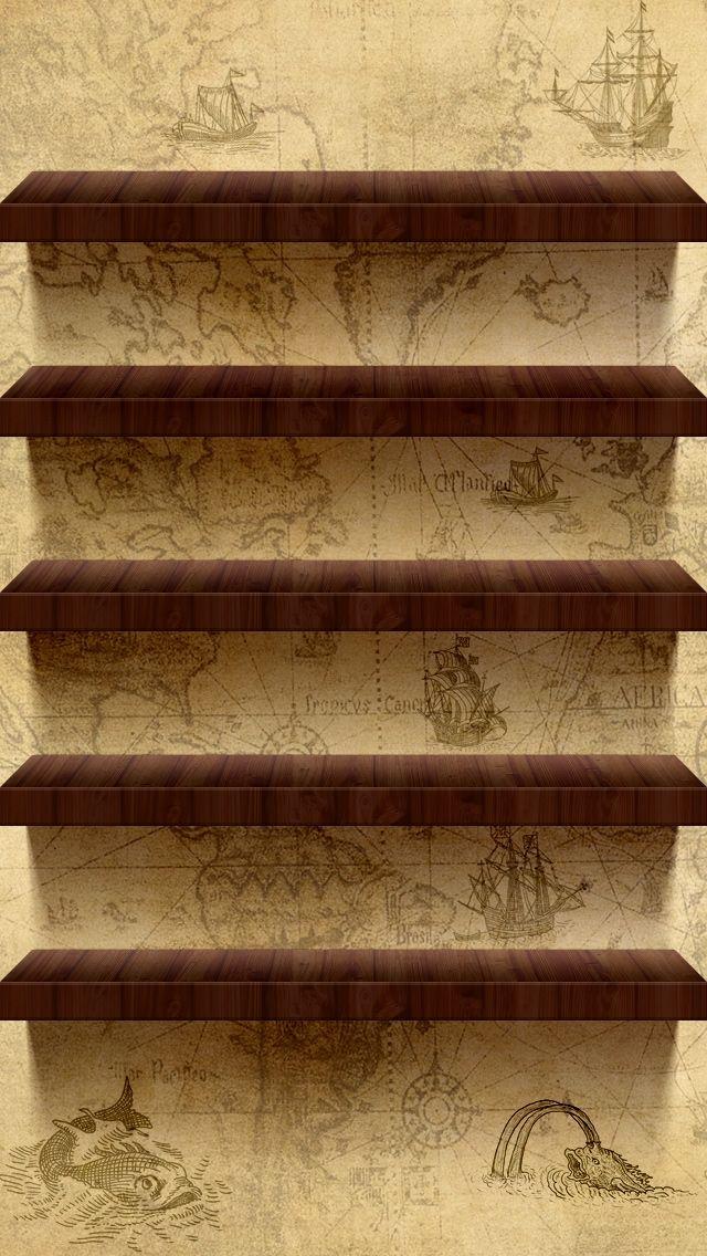 Luxury Shelves Desktop Wallpaper