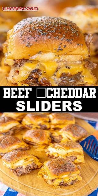#recipe #food #family #Healthy #BEEF #CHEDDAR #SLIDERS - SUM 9 #breakfastslidershawaiianrolls