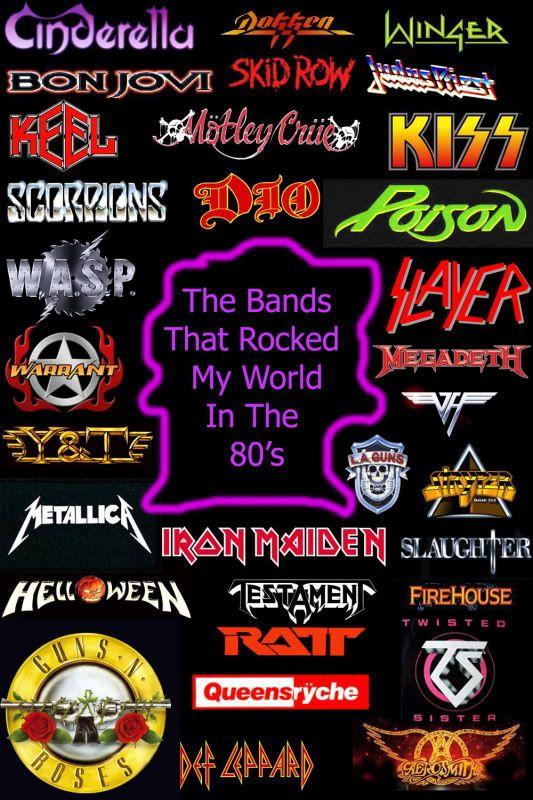 80's metal bands - google