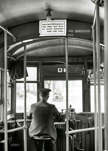 Inside of New Orleans Streetcar