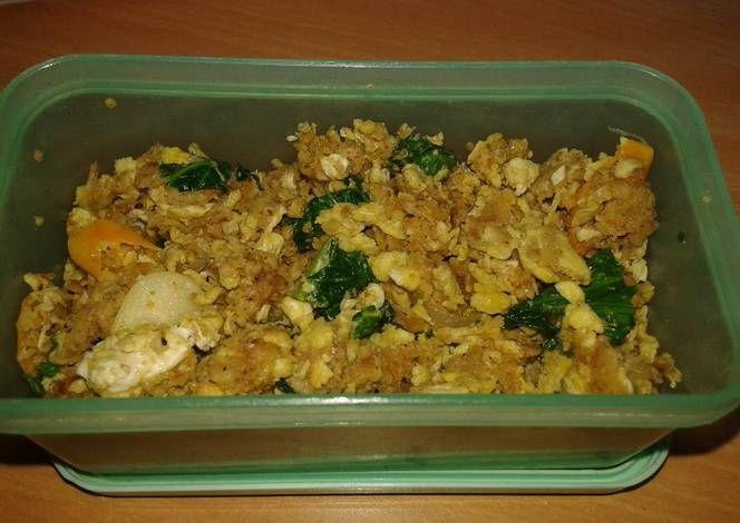 Resep Oatmeal Goreng Oleh Difana Resep Nasi Goreng Oatmeal Makanan