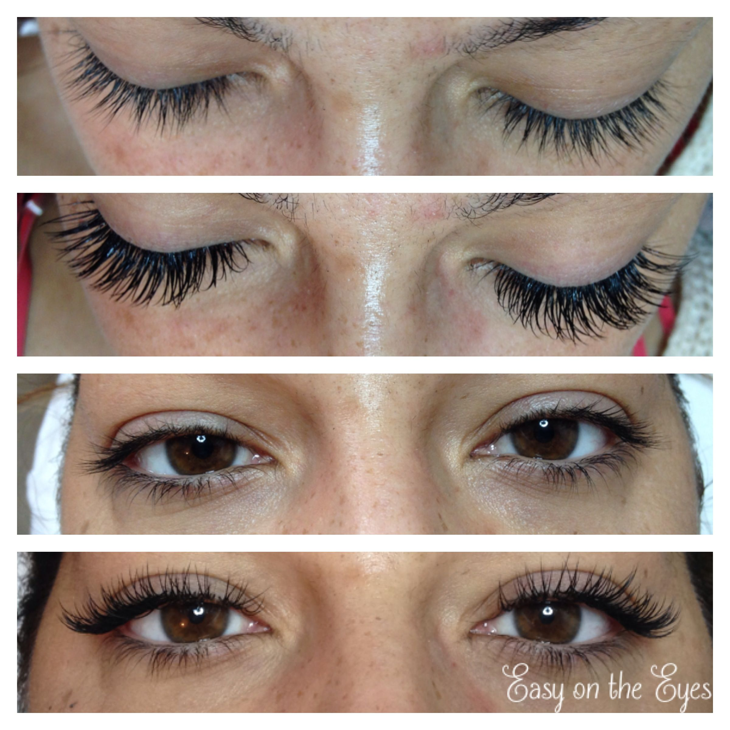 Pictures Of Fake Eyelashes Before And After