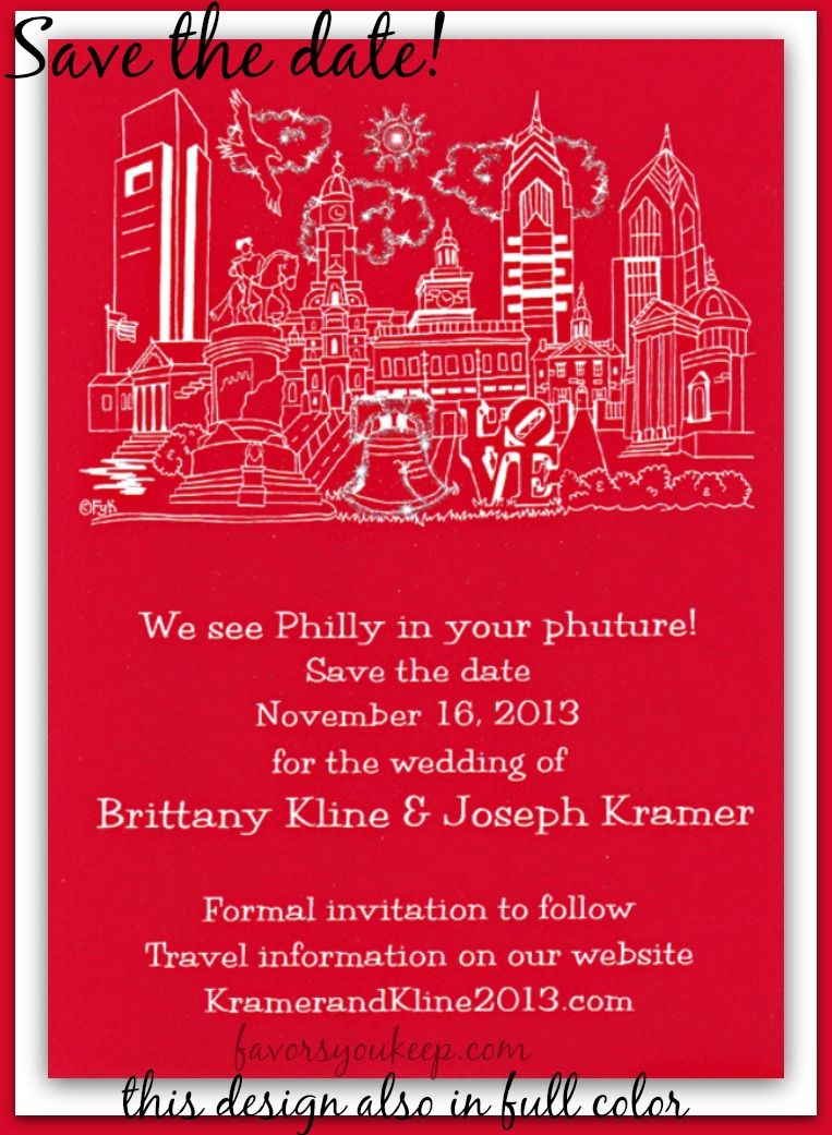 Wedding in Philadelphia. This skyline is also available in full ...