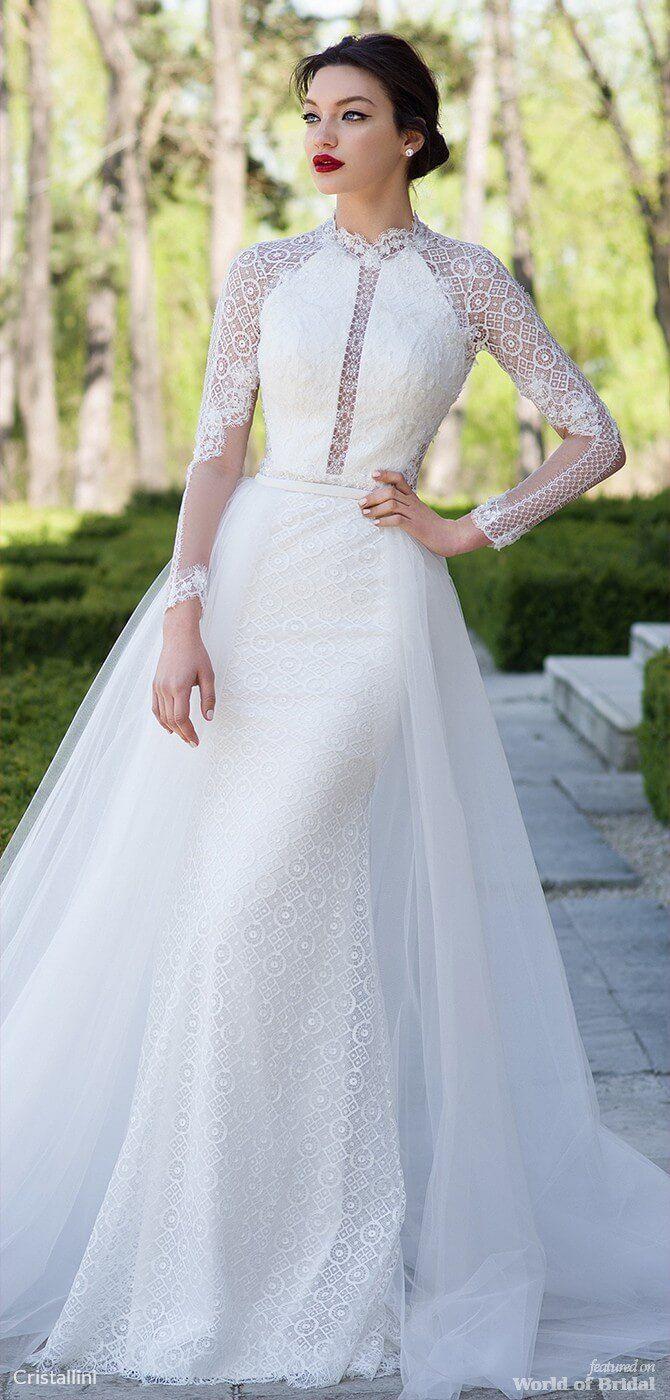 Cristallini wedding dresses เสอผานาใส pinterest