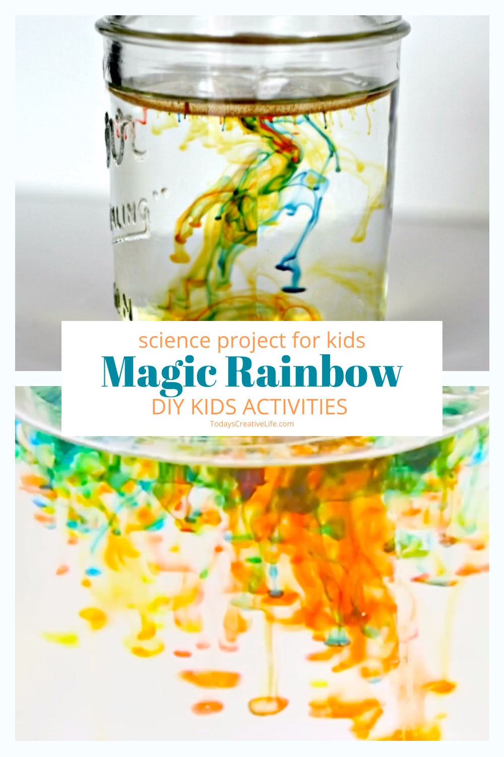 Rainbow Science Activity -   19 diy projects For Boys food coloring ideas