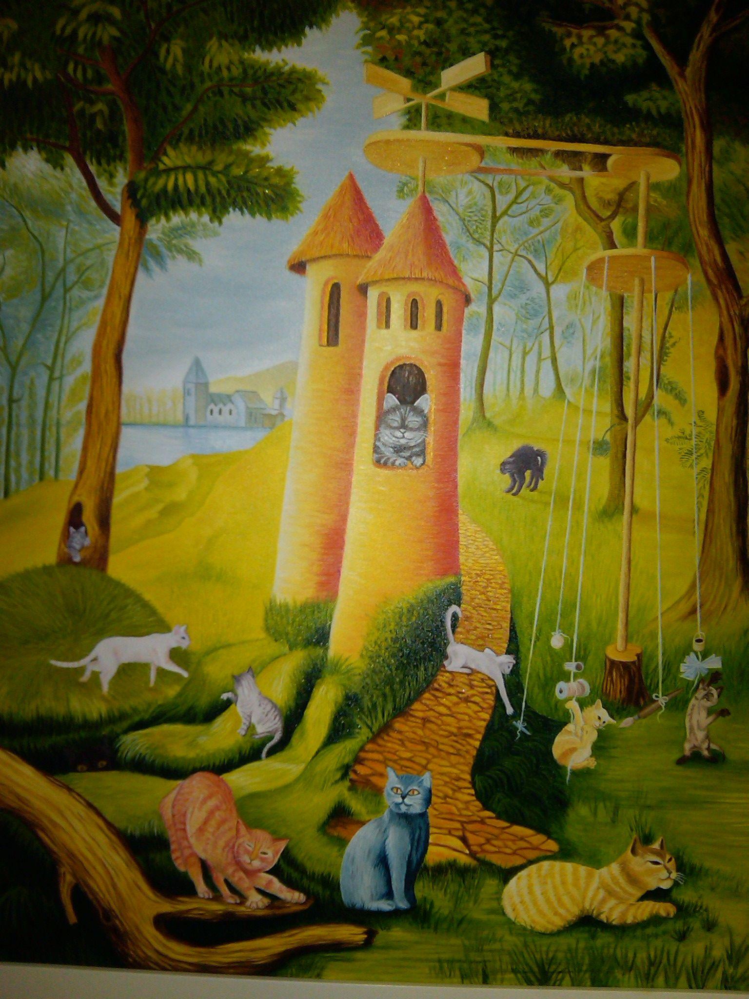 el paraíso de los gatos remedios varo - Google Search | art