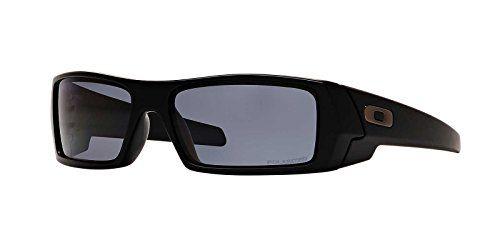 35768277a7 Oakley Mens Gascan Sunglasses (OO9014) Black Matte Grey P ...