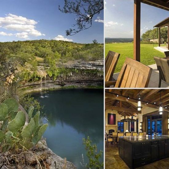 Ultimate Summer Property: Lance Armstrong's Former Home Mirasol Ranch - www.casasugar.com