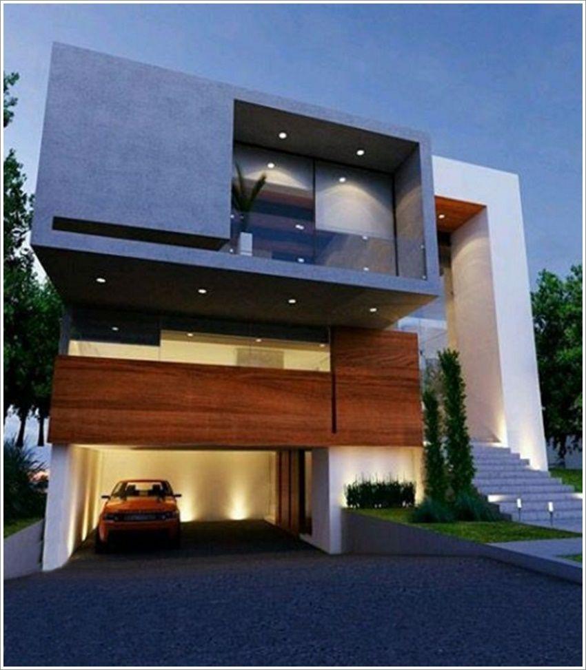 42 modelos de fachadas de casas para você se inspirar   Moderne ...