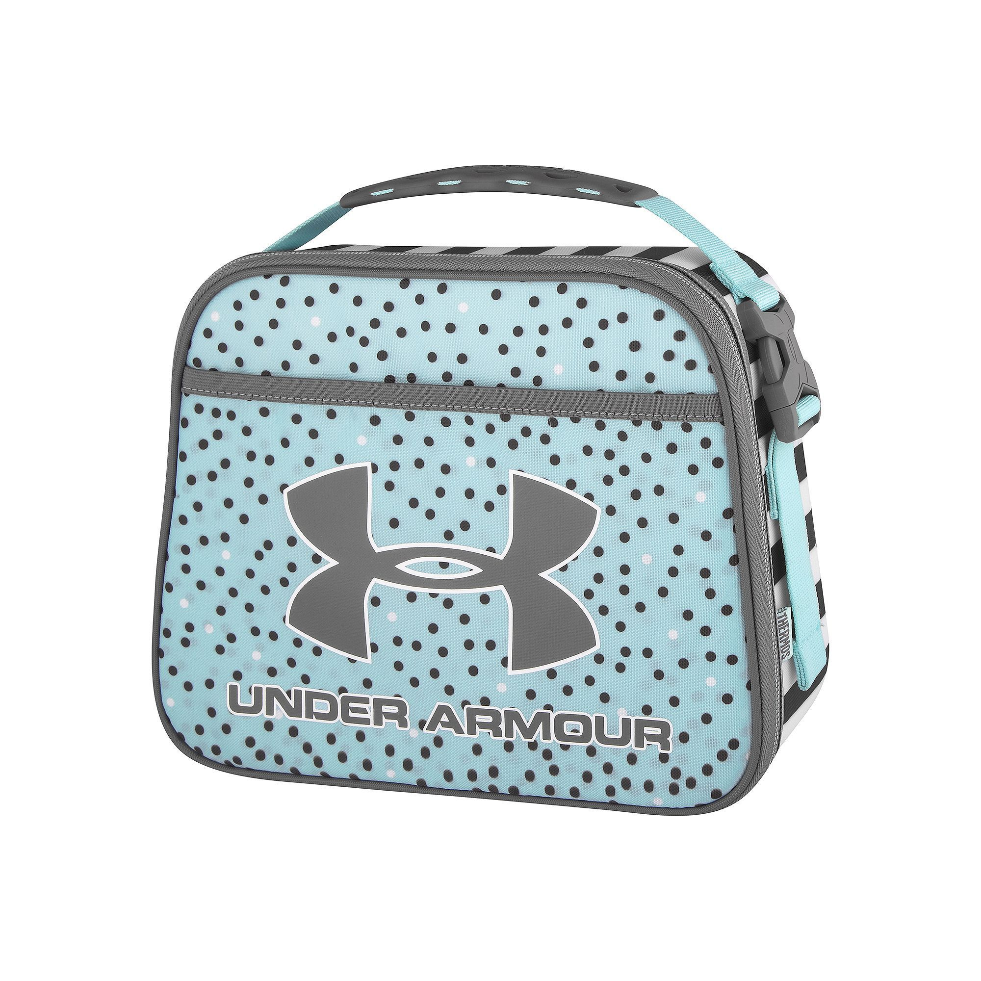 under armour lunch box. girls under armour lunch box, turquoise/blue (turq/aqua) box