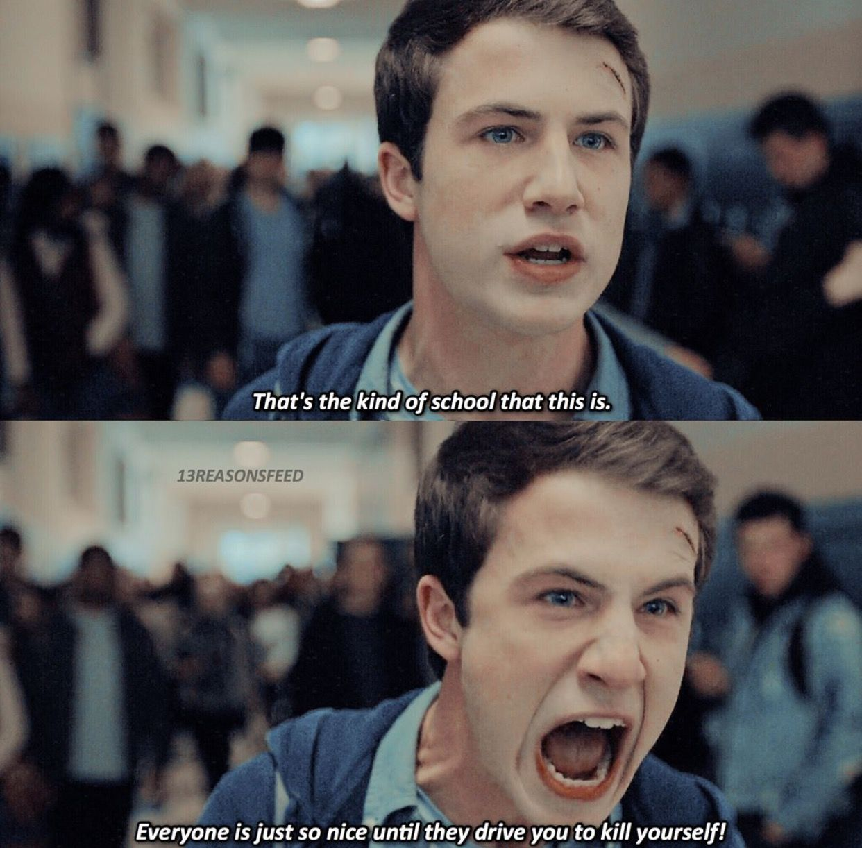 Clay Jensen Dylan Minnette 13 Reasons Why 13 Reasons Why