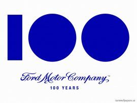 Ford 100 Years Logo Usa Anniversary Logo Ford Logo Ford