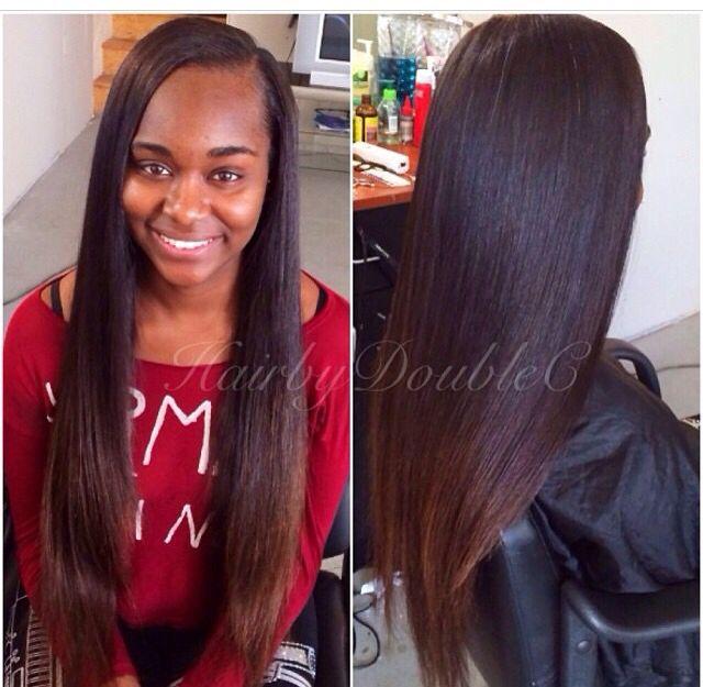 Natural hair weave, best hair weave done in atlanta