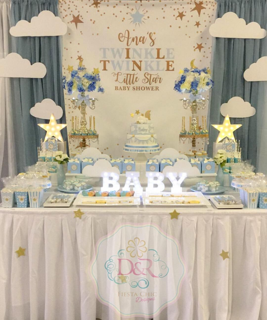 Twinkle Little Star Baby Shower Decorations | www ...