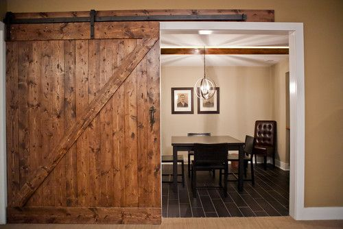 Extra Large Barn Door Farragut Residence Eclectic