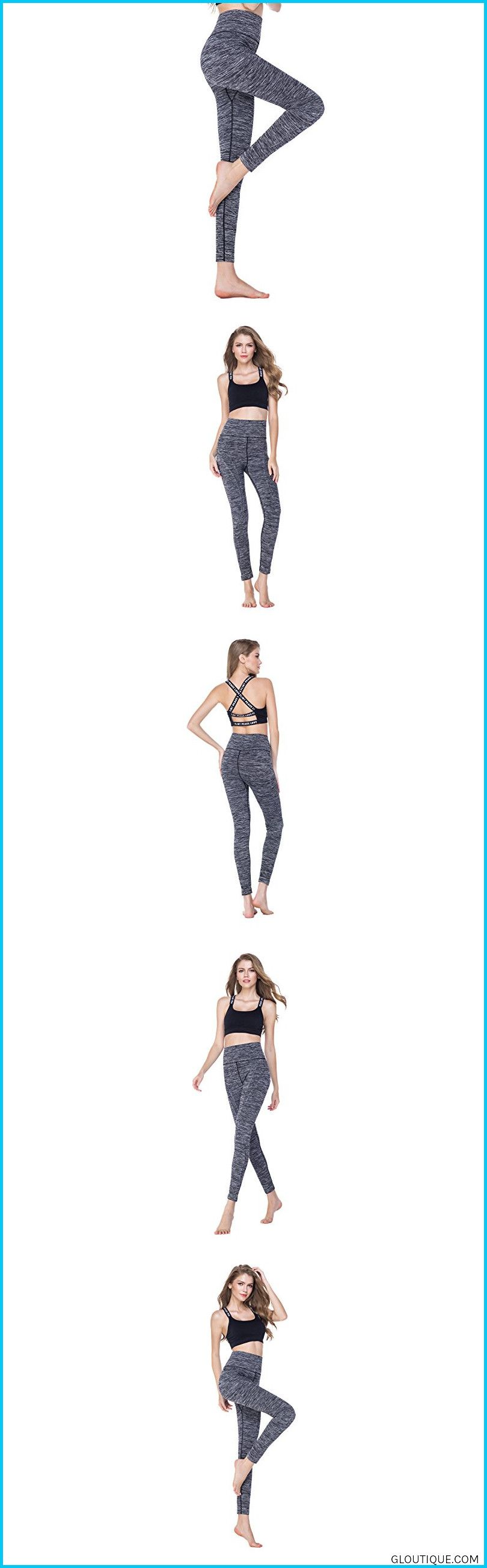 8123171b3e Tirrinia Women's High Waisted Yoga Pants Workout Leggings. STRETCH FABRICS  - Women's workout pants features moisture wicking, non see-through and  4-way ...