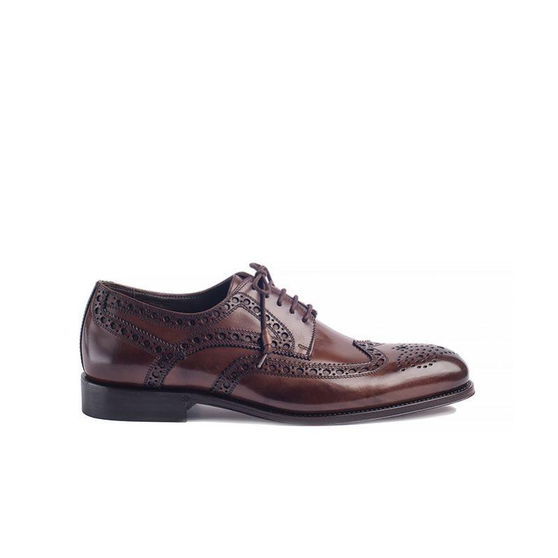 95bb491d7229f Nord Meka 4521 Brown - Nord Shoes - BUTY MĘSKIE - sklep.klasycznebuty.pl