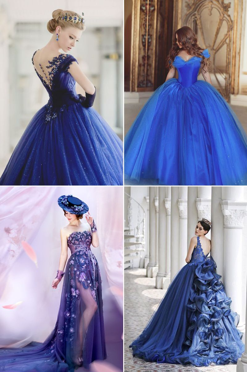 The ultimate collection of something blue dreamy blue gowns you