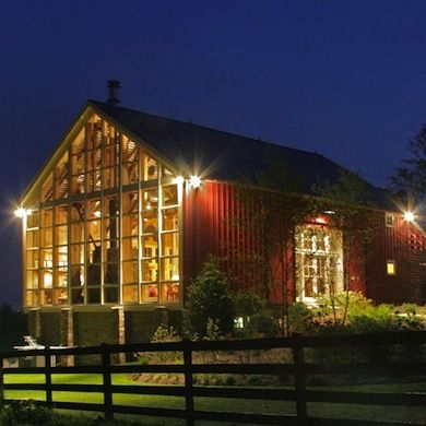 Converting an old barn into a home makes great use of the original  structure's open space