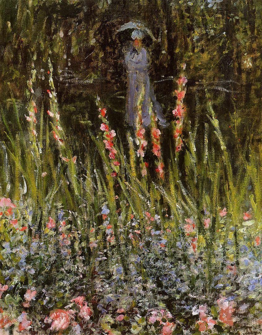 The Garden Gate at Vetheuil, 1876, Claude Monet | Monet | Pinterest ...