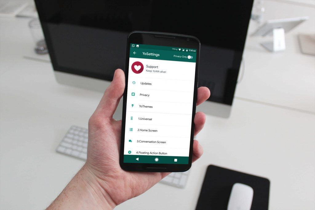 Yowhatsapp Is The Application Which Will Help The Users To Use The Modded Version Of Whatsapp It Allows Them To Theme Whatsapp And Al App Smartphone Tech News