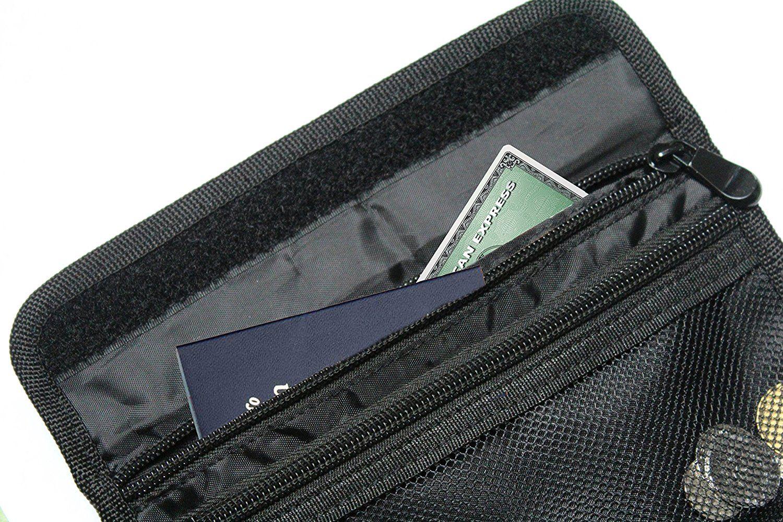 Travel Wallet Black Passport Holder Id Pouch