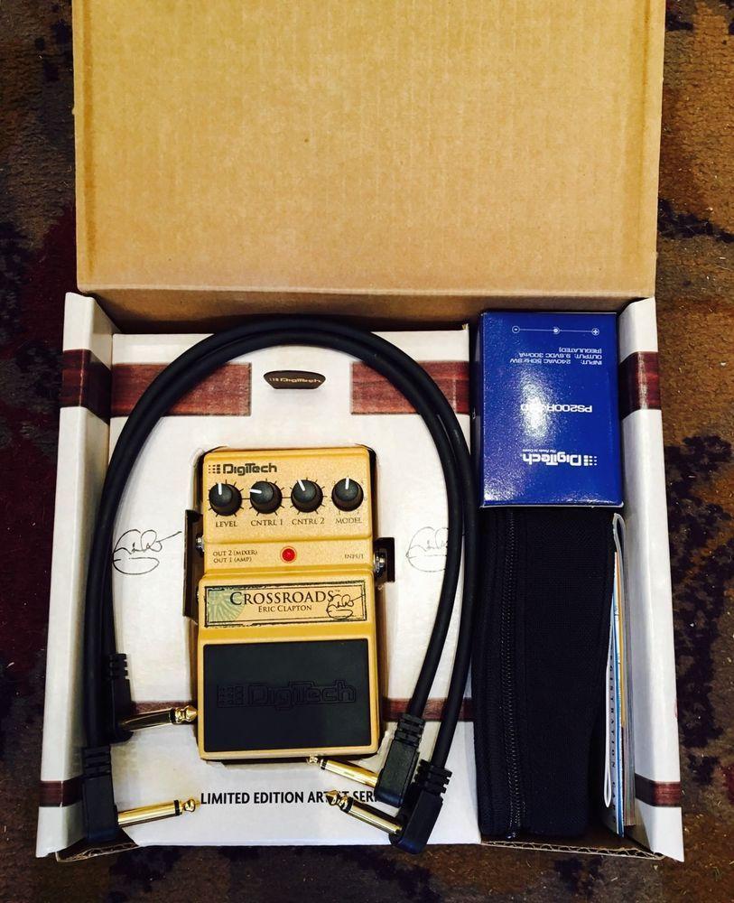 Eric Clapton Crossroads Digitech Guitar Effects Pedal Boxed Reduced Guitar Effects Pedals Guitar Pedals Effects Pedals