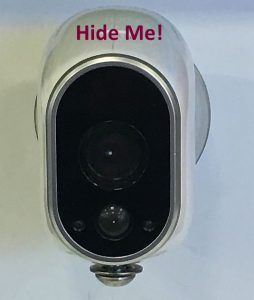 How to Hide an Arlo Home Security Camera | Home Security