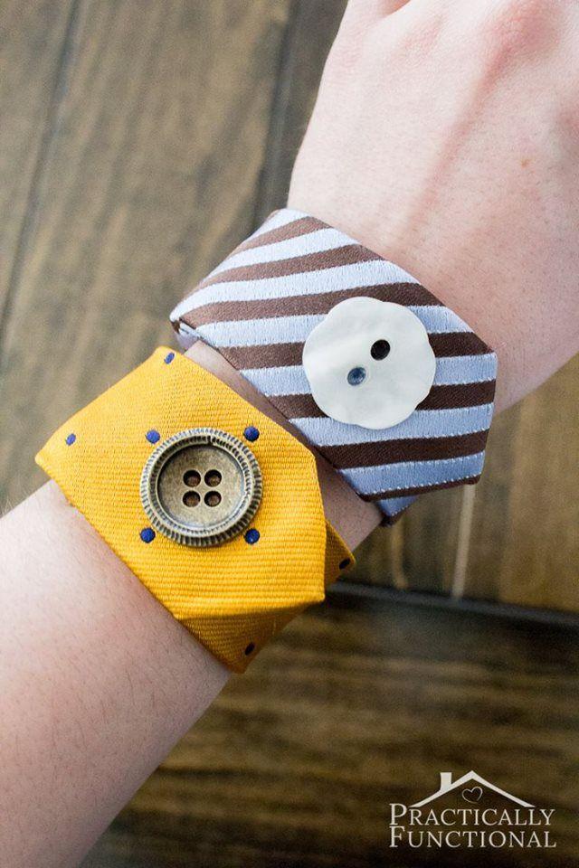 faire des bracelets avec des cravates les cravates. Black Bedroom Furniture Sets. Home Design Ideas
