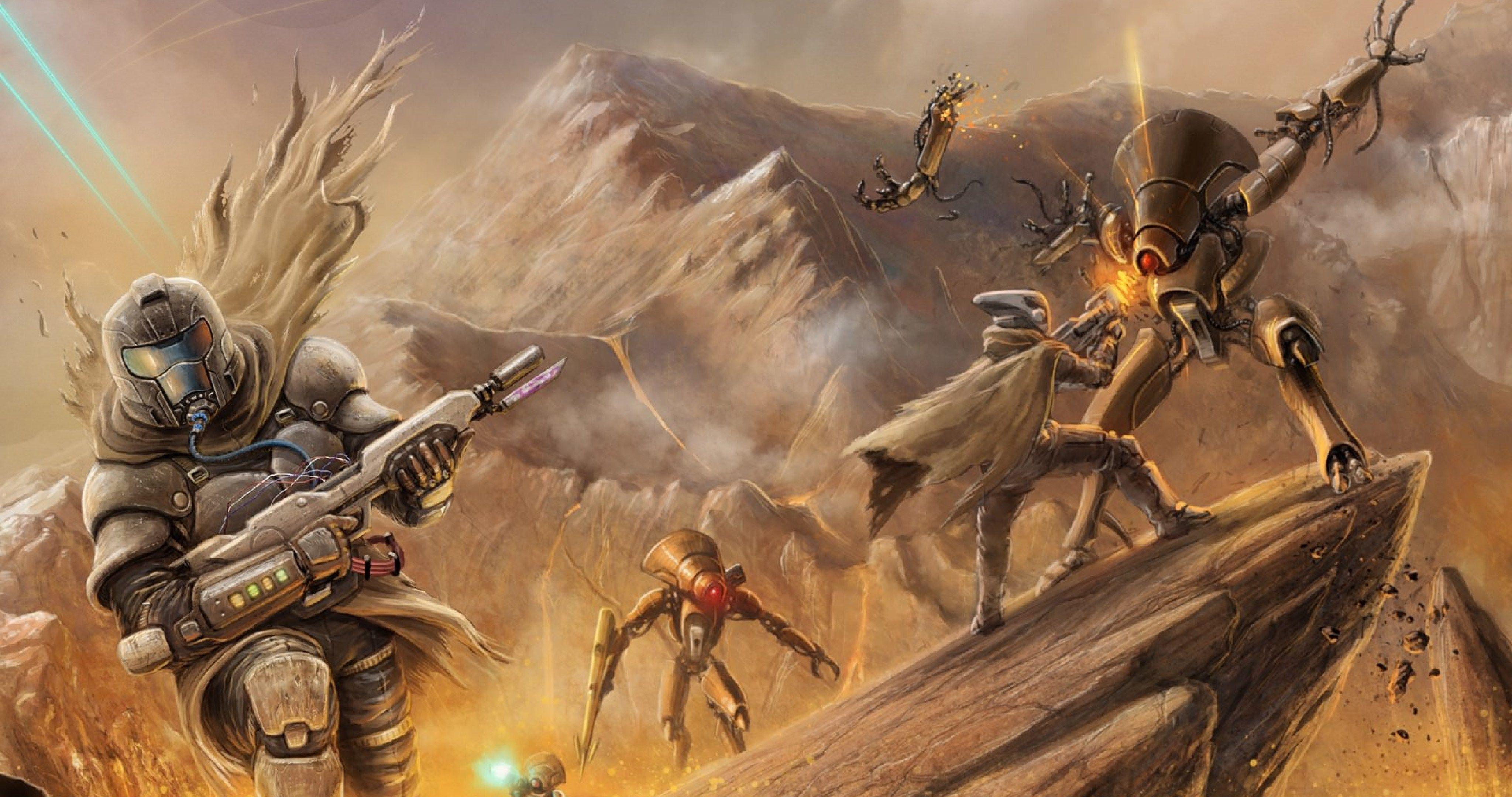Destiny Game 4k Ultra Hd Wallpaper Destiny Game Destiny Bungie Fan Art