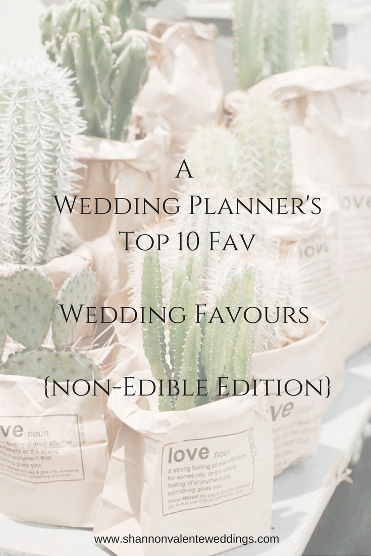 A Wedding Planners Top 10 Favourite Wedding Favours (Non-Edible ...
