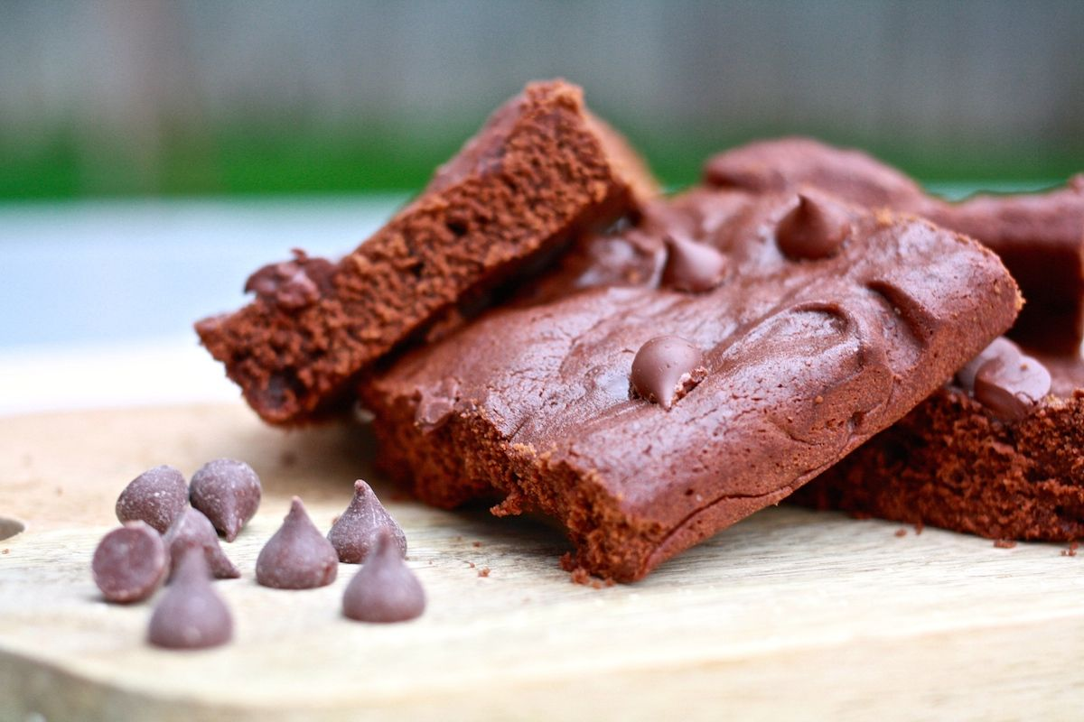 4-ingredient fair trade brownies. So easy and so chocolatey, using ...
