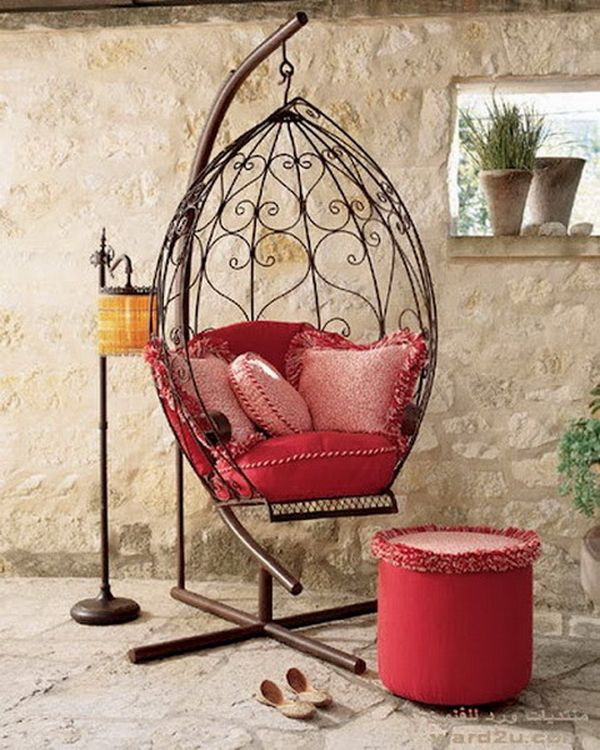 20 Hanging Hammock Chair Designs Stylish And Fun Outdoor Furniture Modern Patio Furniture Lounges Modern Patio Furniture Wrought Iron Furniture