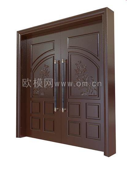 3d Door Model 3 Free Download Main Door Design Door Design Doors