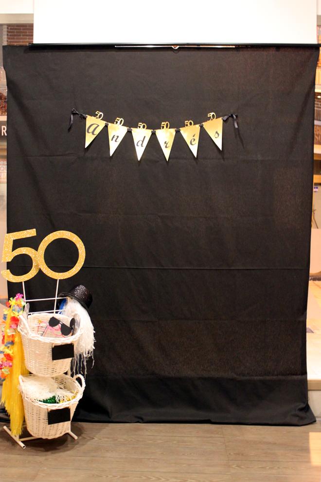 Fiesta de 50 cumplea os 47 ideas geniales fiestas - Ideas para fiesta 40 cumpleanos ...