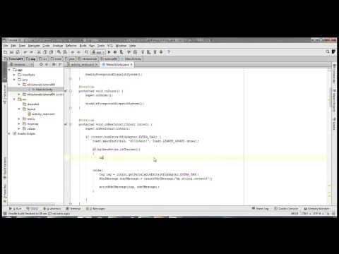 11) Android NFC Tutorial [01] - Getting Started - How to