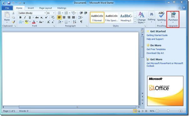 free microsoft word 2010 software download