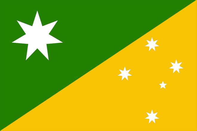 Proposal for new Australian flag, designer unknown | Геральдика